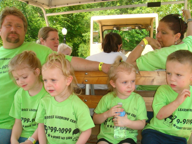 Train at the zoo!